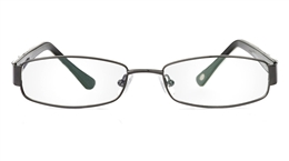 Vista First 1047 Stainless Steel/ZYL Full Rim Womens Optical Glasses for Fashion,Nose Pads