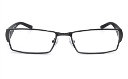 Vista First 1103 Stainless Steel Mens Womens Full Rim Optical Glasses for Fashion,Party,Nose Pads Bifocals
