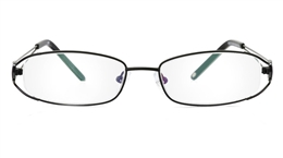 Vista First 1068 Stainless Steel Full Rim Womens Optical Glasses for Fashion,Nose Pads Bifocals