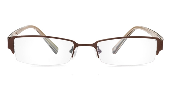 Vista First 1053 Stainless Steel/ZYL Mens&Womens Half Rim Optical Glasses