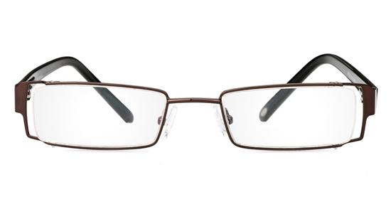 Vista First 1039 Stainless Steel/ZYL Full Rim Mens Optical Glasses