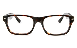 Vista First 166 Acetate(ZYL) Mens Womens Full Rim Wayfarer Optical Glasses for Fashion,Classic Bifocals