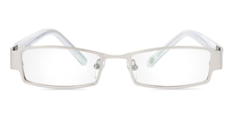 Vista First 1059 Stainless Steel/ZYL Full Rim Mens Optical Glasses for Fashion,Nose Pads