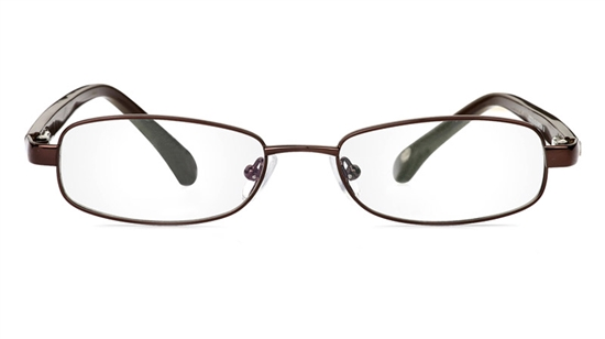 Vista First 1048 Stainless Steel/ZYL Full Rim Mens Optical Glasses