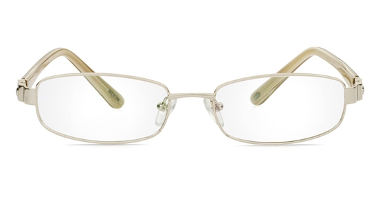 Vista First 1073 Stainless Steel/ZYL Full Rim Womens Optical Glasses