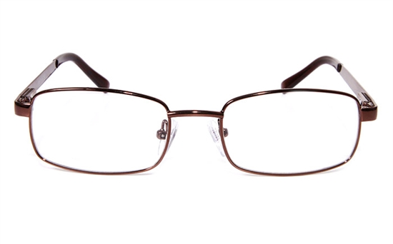 Poesia eso6602 Stainless Steel Mens&Womens Full Rim Optical Glasses