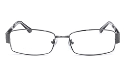 Vista First 1102 Stainless Steel Mens Womens Full Rim Optical Glasses for Fashion,Party,Sport,Nose Pads Bifocals