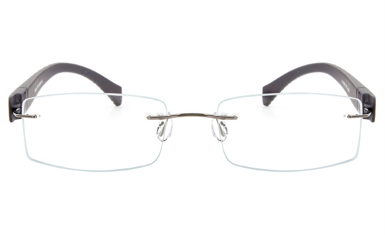 Vista First 5019 Stainless Steel Mens&Womens None Optical Glasses