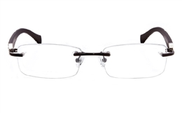 Vista First 1605 None Womens Optical Glasses for Classic,Party,Nose Pads Bifocals