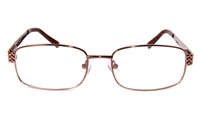 Poesia eso6613 Stainless Steel Mens&Womens Full Rim Optical Glasses