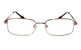 Poesia eso6601 Stainless Steel Mens Womens Full Rim Optical Glasses for Classic,Party,Sport,Nose Pads Bifocals