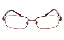 Poesia eso6612 Stainless Steel Mens Womens Full Rim Optical Glasses for Classic,Party,Sport,Nose Pads Bifocals