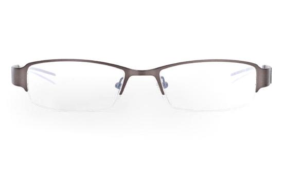 E1006 Stainless Steel Mens&Womens Half Rim Optical Glasses