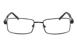 Vista First 1610 Stainless Steel Mens Womens Full Rim  Optical Glasses for Classic,Party,Sport,Nose Pads Bifocals