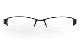 E1006 Stainless Steel Mens Womens Half Rim Optical Glasses for Fashion,Classic,Party,Sport,Nose Pads Bifocals