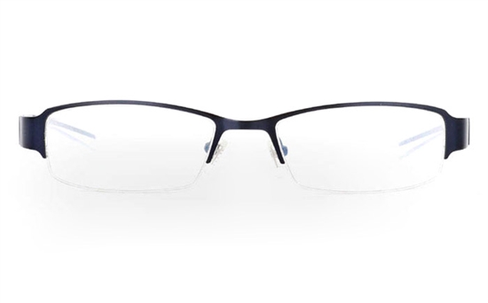 E1006 Stainless Steel Mens&Womens Half Rim Optical Glasses