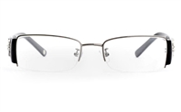 CR3366 Stainless Steel/ZYL Half Rim Womens Optical Glasses