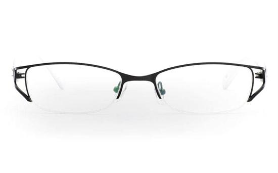 OD-050 Stainless Steel/ZYL Half Rim Womens Optical Glasses