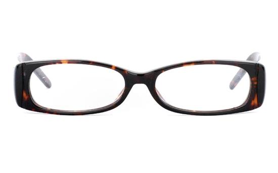 CR3499 Stainless Steel/ZYL Full Rim Womens Optical Glasses