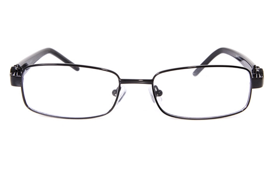Poesia 1602 Stainless Steel/ZYL Full Rim Womens Optical Glasses