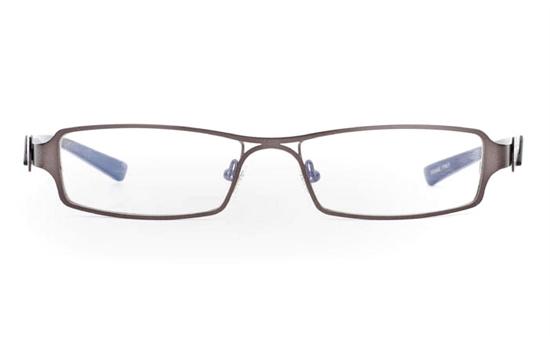E1013 Stainless Steel Half Rim Mens Optical Glasses