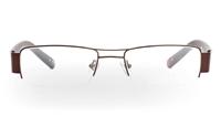 VPR629 Stainless Steel/ZYL Mens&Womens Half Rim Optical Glasses
