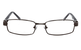 Vista First 1612 Stainless Steel Mens Womens Full Rim Optical Glasses for Classic,Party,Sport,Nose Pads Bifocals
