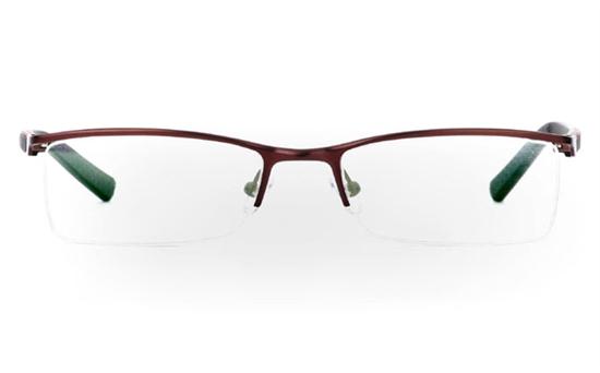 832 Stainless Steel Half Rim Mens Optical Glasses