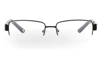 CR3492B Stainless Steel/ZYL Half Rim Mens Optical Glasses