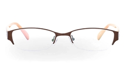 OD-051 Stainless Steel/ZYL Mens&Womens Half Rim Optical Glasses