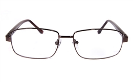 Poesia 6001 Stainless Steel Full Rim Mens Optical Glasses for Classic,Party,Sport,Nose Pads Bifocals
