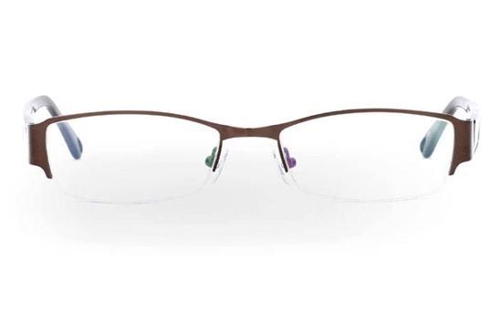 OD-049 Stainless Steel/ZYL Half Rim Mens Optical Glasses