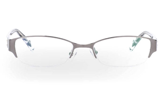 OD-051 Stainless Steel/ZYL Mens&Womens Half Rim Optical Glasses
