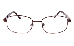 Poesia eso6603 Stainless Steel Mens Womens Full Rim Optical Glasses for Classic,Party,Sport,Nose Pads Bifocals