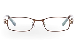 OD-2904 Stainless Steel/ZYL Mens Womens Full Rim Optical Glasses for Fashion,Classic,Party,Sport,Nose Pads Bifocals