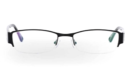 OD-049 Stainless Steel/ZYL Half Rim Mens Optical Glasses for Fashion,Party,Nose Pads Bifocals