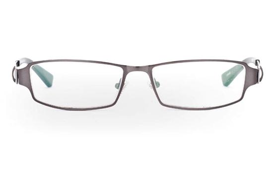 E1008 Stainless Steel Mens&Womens Half Rim Optical Glasses