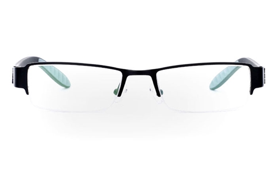 830 Stainless Steel Half Rim Mens Optical Glasses