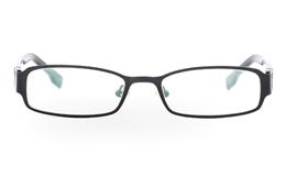SF862 Stainless Steel/ZYL Half Rim Mens Optical Glasses for Fashion,Party,Sport,Nose Pads