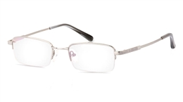 Vista First 2013 Titanium Memory Half Rim Mens Optical Glasses for Fashion,Classic,Party,Nose Pads Bifocals