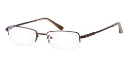 Vista First 2018 Titanium Memory Mens Womens Half Rim Optical Glasses for Fashion,Classic,Party,Nose Pads Bifocals
