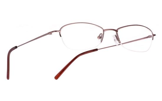 Vista First 1017 Stainless Steel/ZYL Mens&Womens Half Rim Optical Glasses