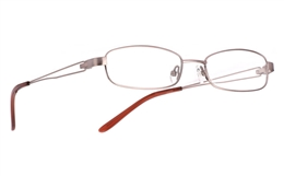 Vista First 1015 Stainless Steel/ZYL Mens Womens Full Rim Optical Glasses for Fashion,Classic,Party,Sport,Nose Pads Bifocals