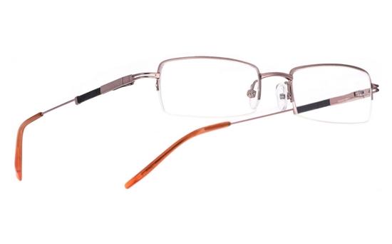 Vista First 1013 Stainless Steel/ZYL Mens&Womens Half Rim Optical Glasses
