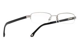 Vista First 1003 Stainless Steel/ZYL Full Rim Mens Optical Glasses for Fashion,Party,Sport,Nose Pads