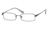 Poesia 1020 Stainless Steel/ZYL Full Rim Mens Optical Glasses
