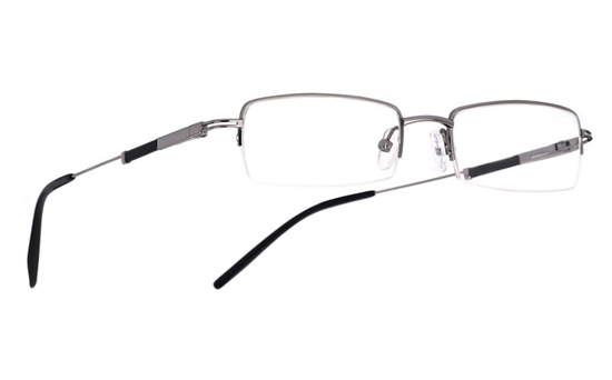 Vista First 1013 Stainless Steel/ZYL Mens&Womens Half Rim Optical Glasses