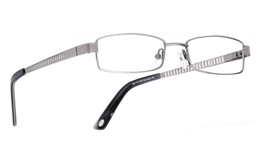 Poesia 1005 Stainless Steel/ZYL Full Rim Mens Optical Glasses for Fashion,Classic,Party,Sport,Nose Pads