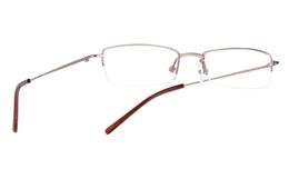 Vista First 1018 Stainless Steel/ZYL Half Rim Mens Optical Glasses
