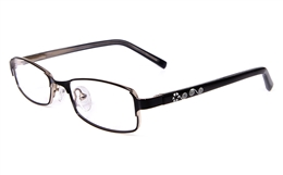 Nova Kids 1516 Stainless Steel/ZYL Full Rim Kids Optical Glasses